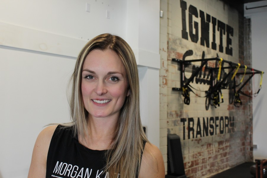Morgan Kate, the founder of Morgan Kate Fitness