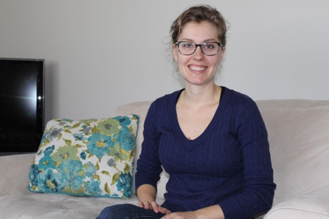 Lauren Catlin, an independent contractor for Royal LePage State, says working in the gig economy is her only way of making a living after being laid off from her secure job. (Amanda Pope/The Virago)